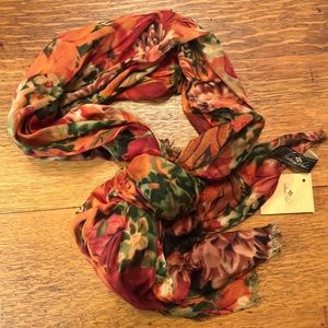 Patricia Nash Multi Floral Scarf
